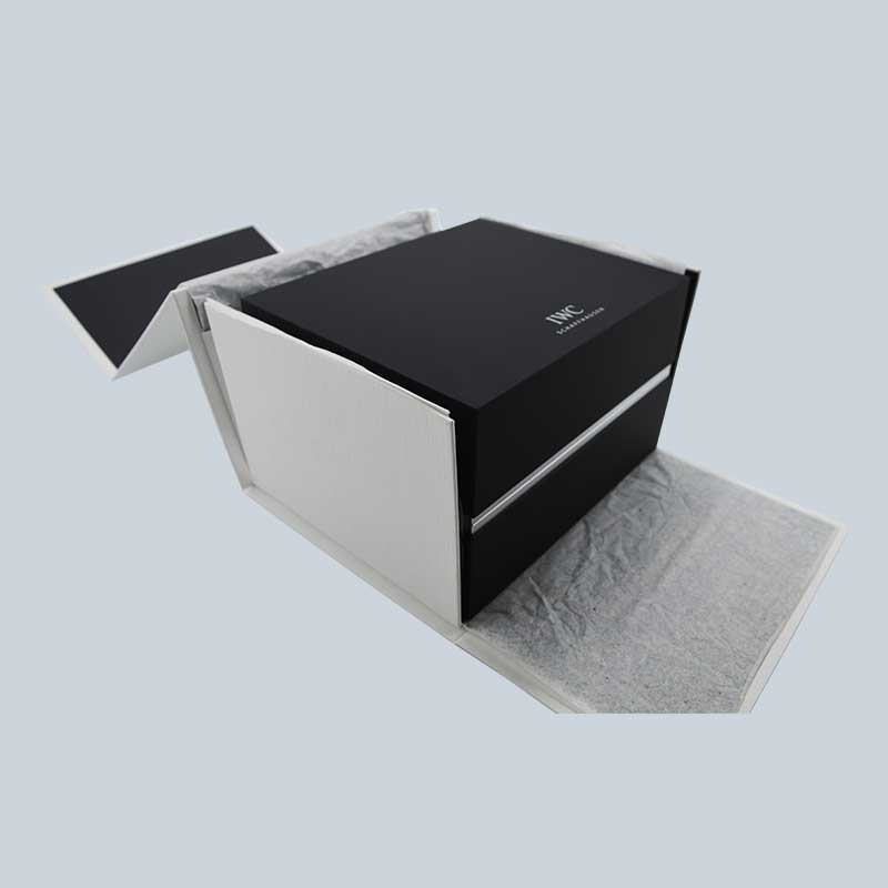Luxury High End Soft Touch Lacquer Watch Box-1