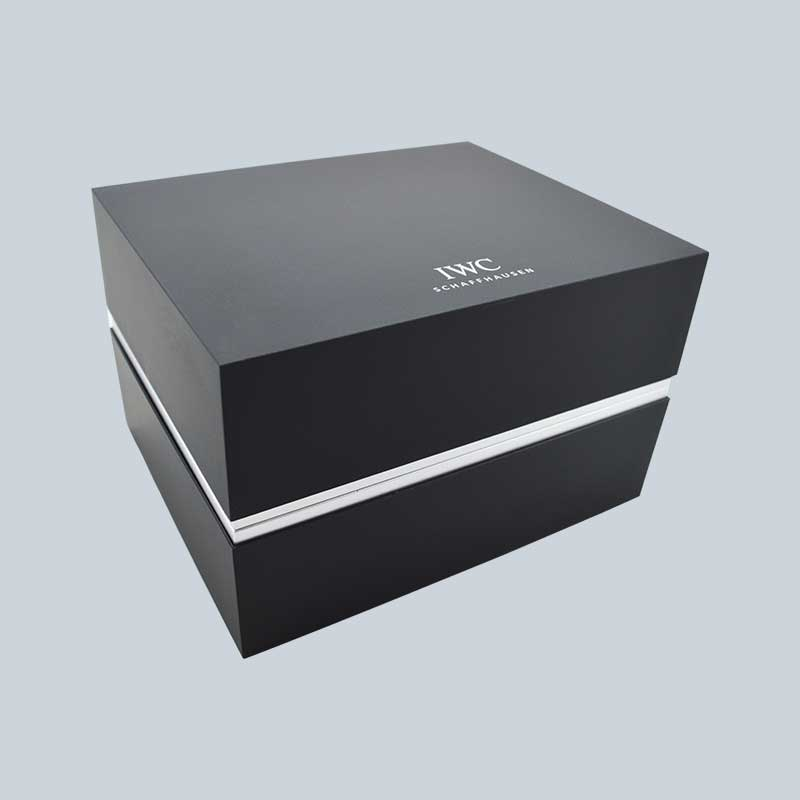 Luxury High End Soft Touch Lacquer Watch Box-2
