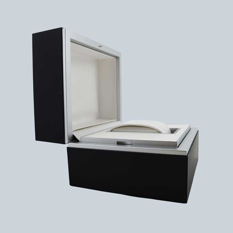 Luxury High End Soft Touch Lacquer Watch Box-4