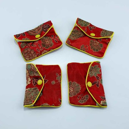 Chinese style satin jewelry pouch-4