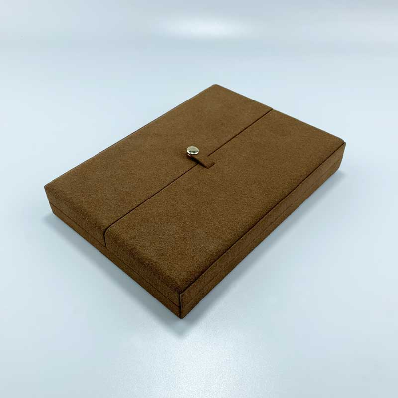 Coffee Double Door Necklace Box-1