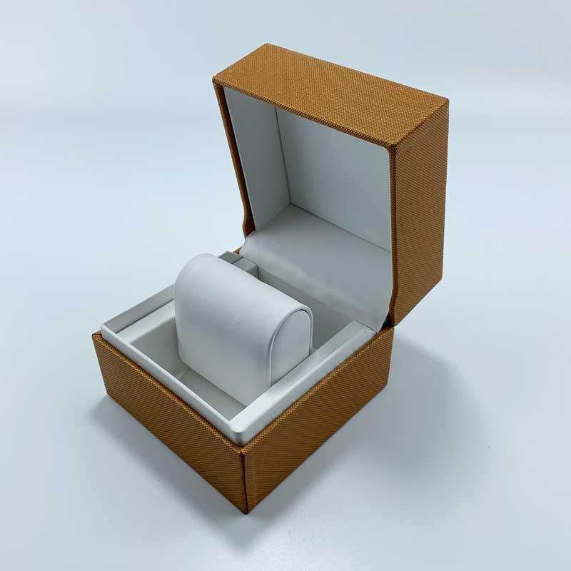 Custom Textured Paper Watch Box-2