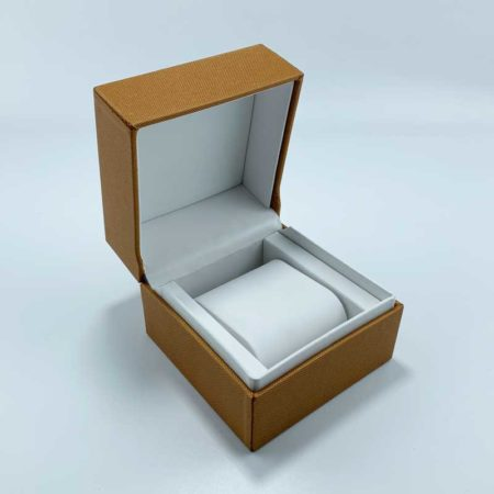 Custom Textured Paper Watch Box-3