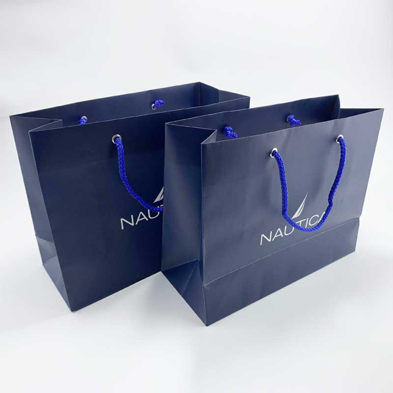 Apparel Clothing Garment Shopping Paper Carrier Bags (2)