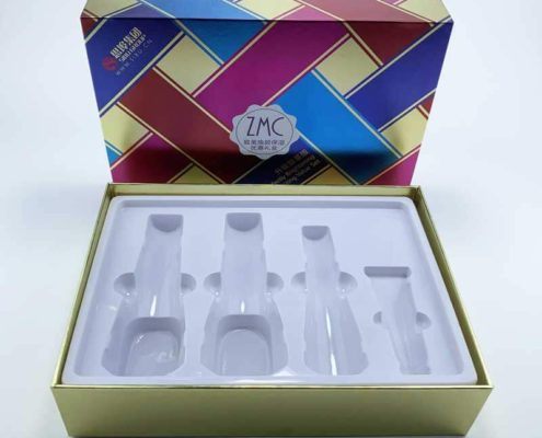 Colorful Skin Care Cosmetic set rigid gift boxes-3