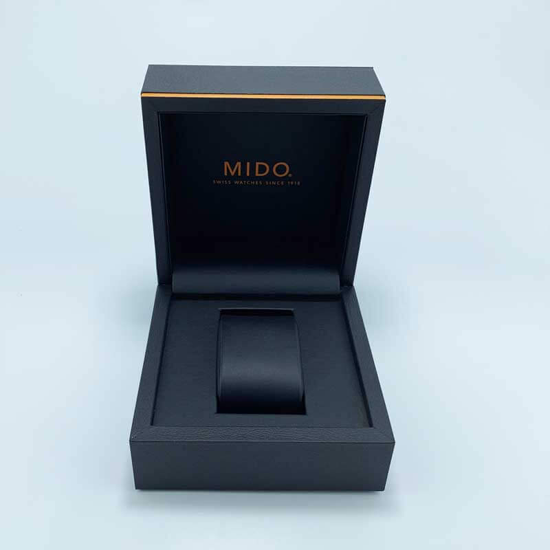 Custom Brand Leatherette Paper Watch Packaging Boxes-1