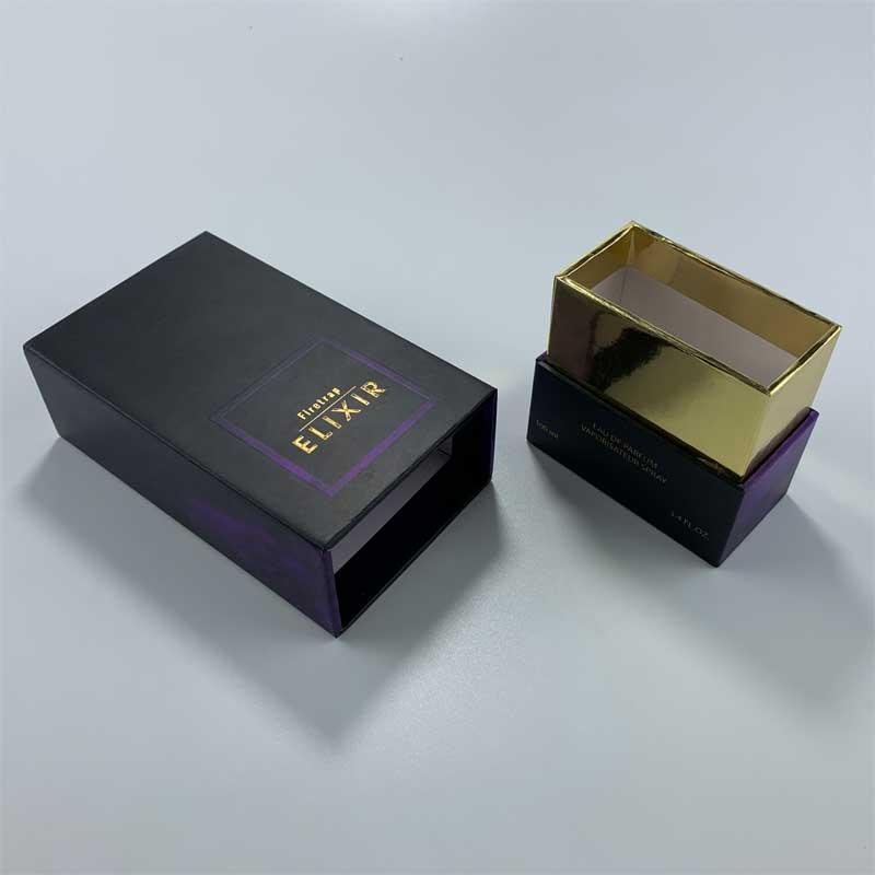 Custom printed set-up rigid perfume boxes-1