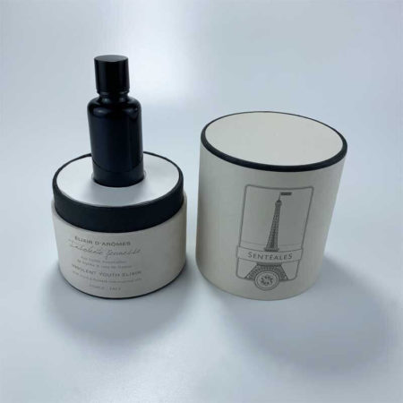 Cylinder round-shape perfume paper boxes-2