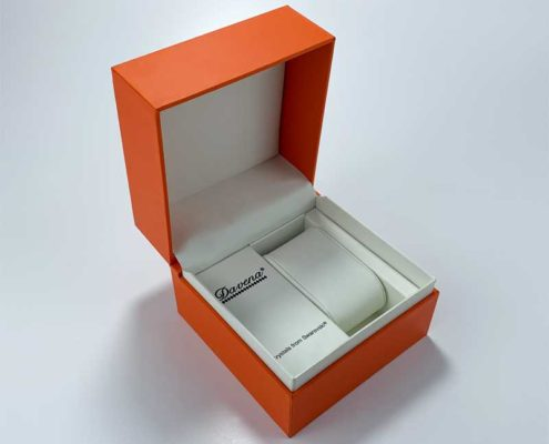 Elegant Custom printed watch packaging boxes-3
