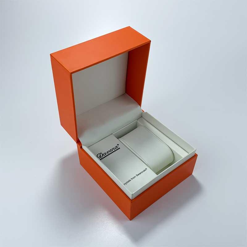 Elegant Custom printed watch packaging boxes-3