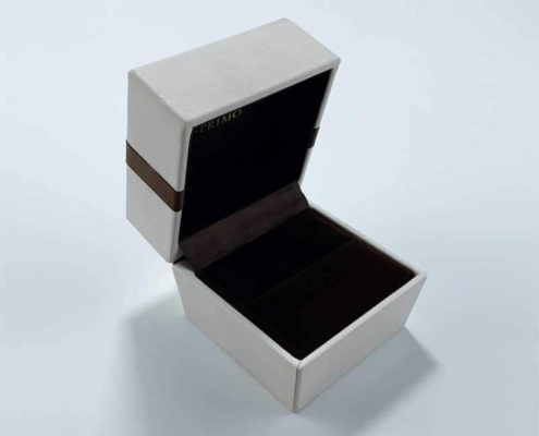 Genuine PU leatherette leather jewelry box-1