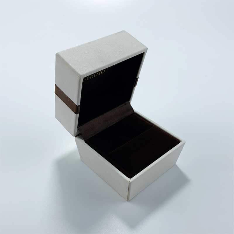 Genuine PU leatherette leather jewelry box-1