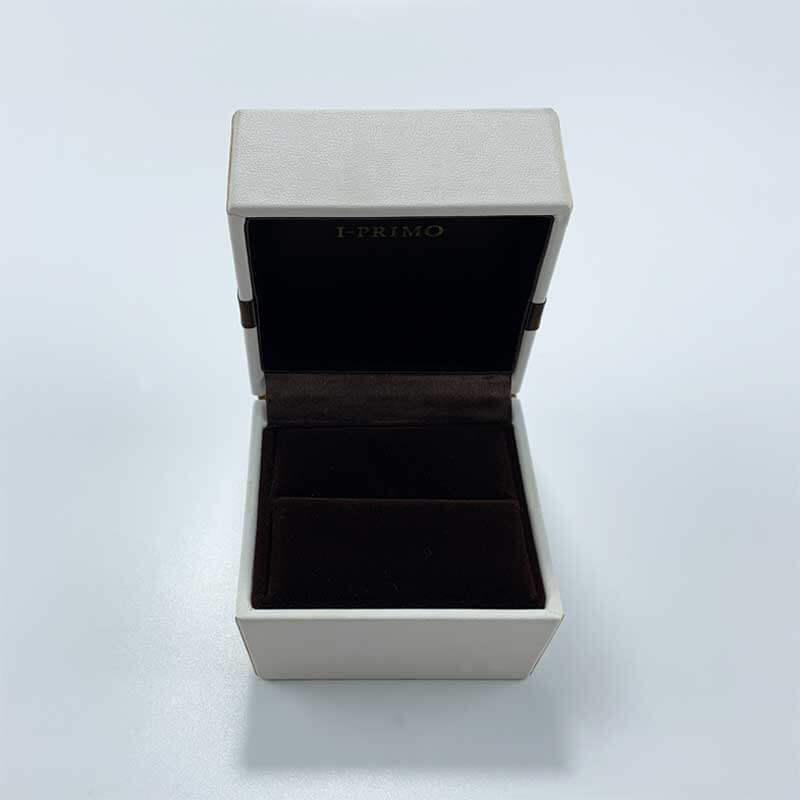 Genuine PU leatherette leather jewelry box-2