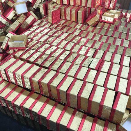 Gold Pendant Boxes