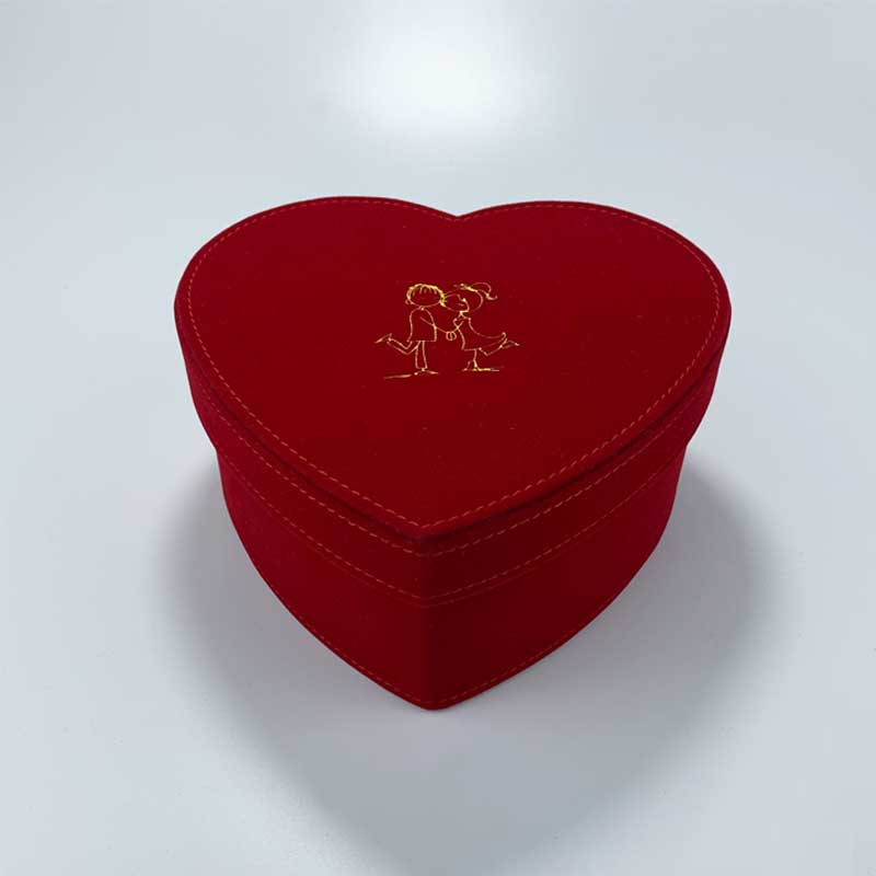 Heart-Shaped Gift Wedding Watch Boxes-3
