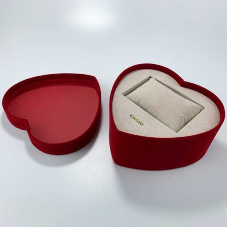 Heart-shaped Gift Wedding Watch Boxes-1