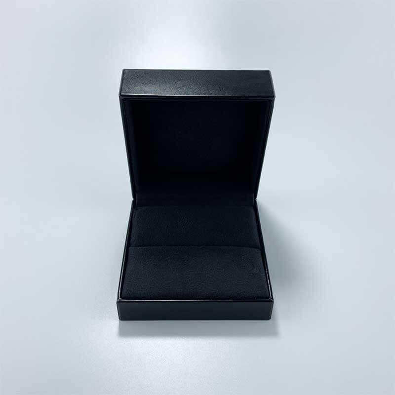 Luxury PU Leather Couple Rings Jewelry Box-4