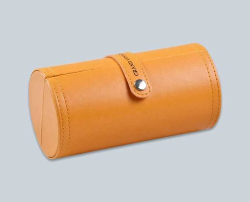Perfume-cosmetics-cylinder-leather-boxes-2