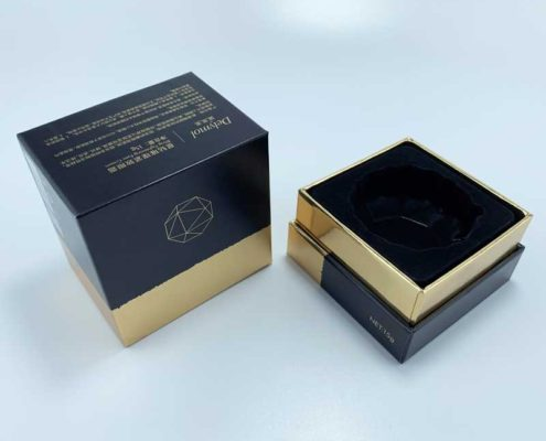 Printed Cardboard Face Cream Cosmetics Paper Package Box-2