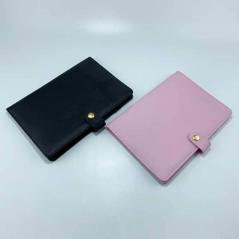 Refillable PU leather notebook journal cover-1