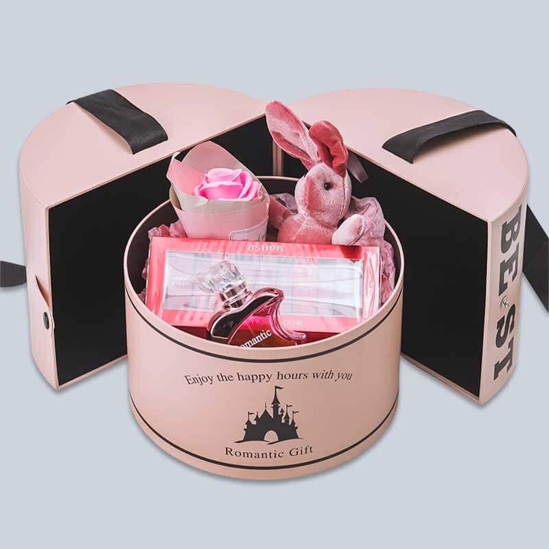 Round-shape-rigid-paper-perfume-box-1