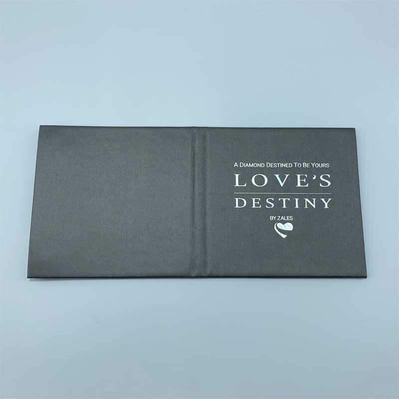 Small Leatherette Certificate Booklet Menu Book Cover-2