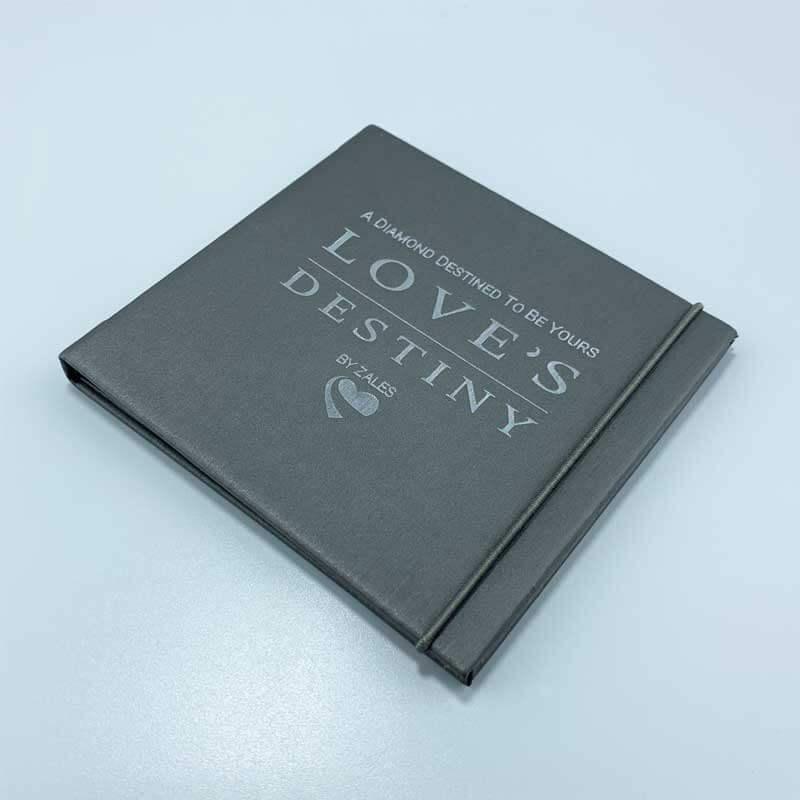 Small Leatherette Certificate Booklet Menu Book Cover-3