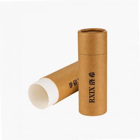 Brown Kraft Paper Tubes for Pen Pencil (3)