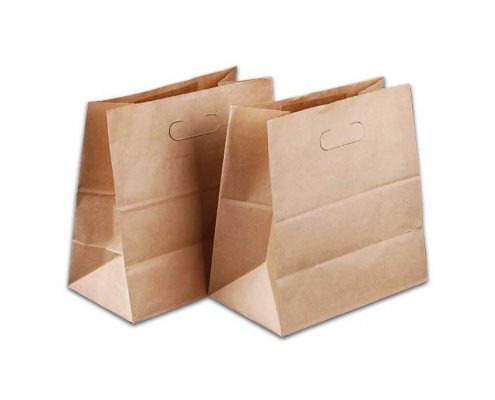 Custom Brown Kraft Paper Lunch Bags (1)