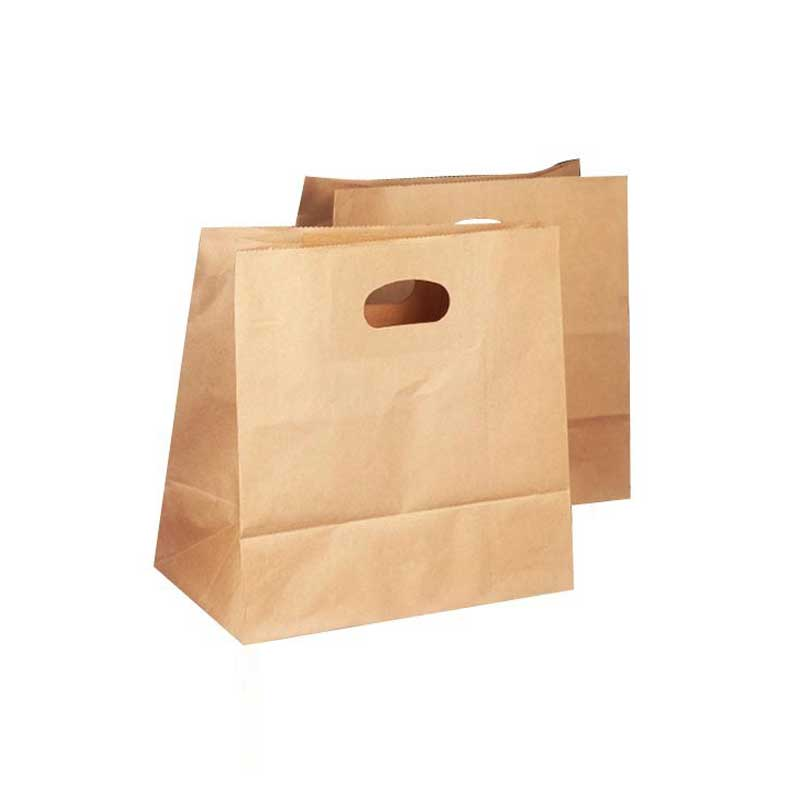 Custom Brown Kraft Paper Lunch Bags (2)