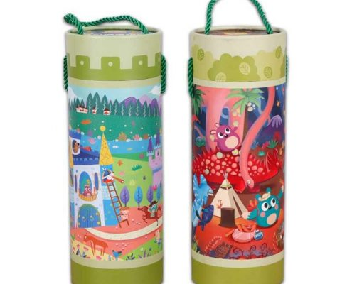 Custom Cardboard Paper Tubes for Puzzles (3)