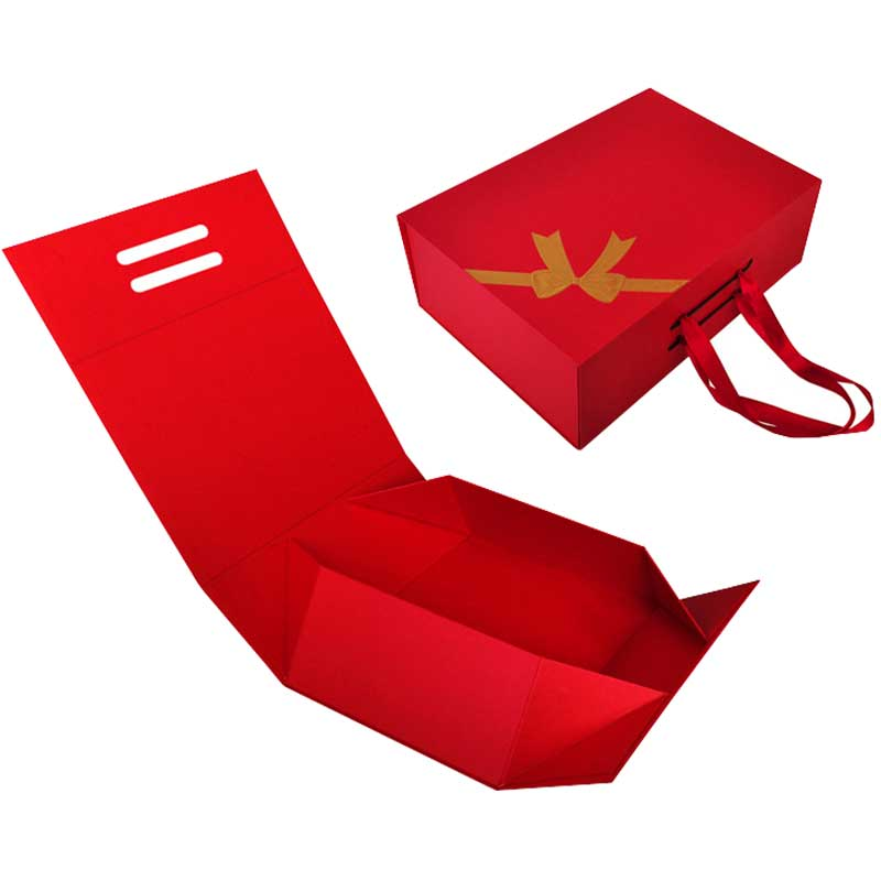 Custom Printed Paper Collapsible Gift boxes-1