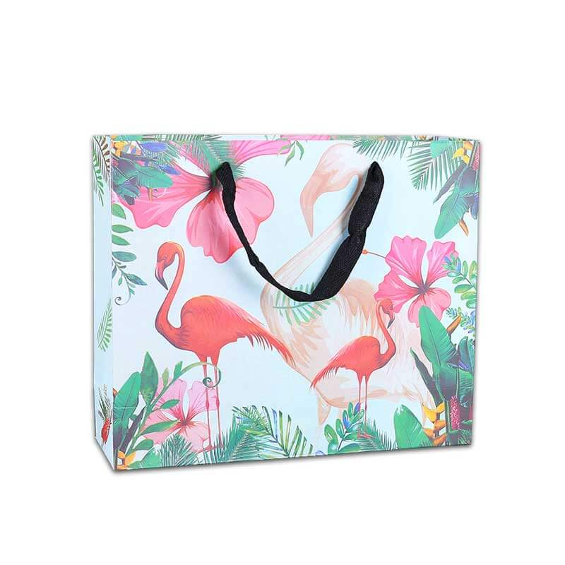 Custom Shopping Paper Bags with Logo (2)