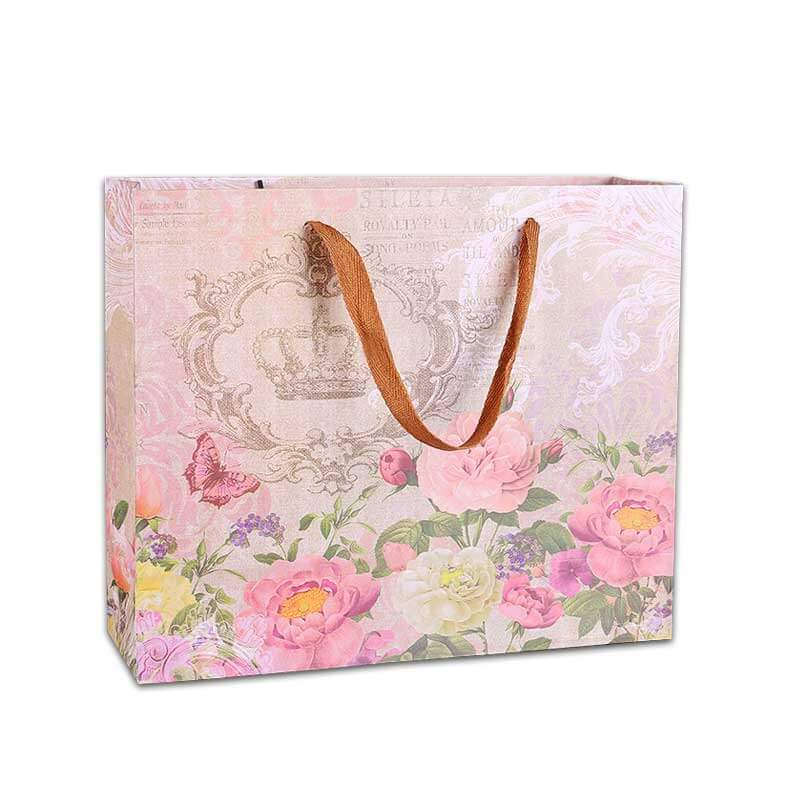 Custom Shopping Paper Bags with Logo (3)