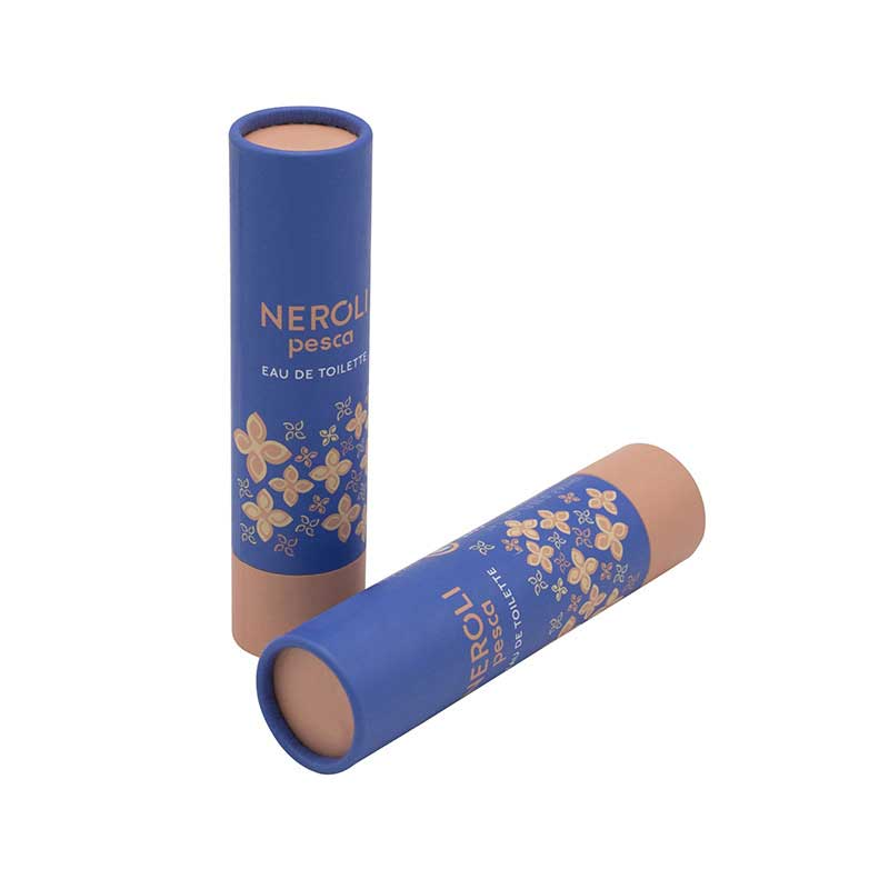 Cylinder Paper Cardboard Tubes with Caps (3)