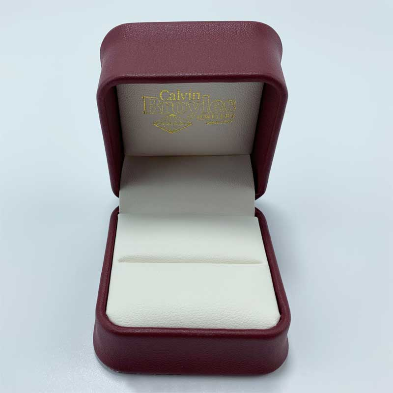 Fashion leather wedding gift jewelry ring box-4