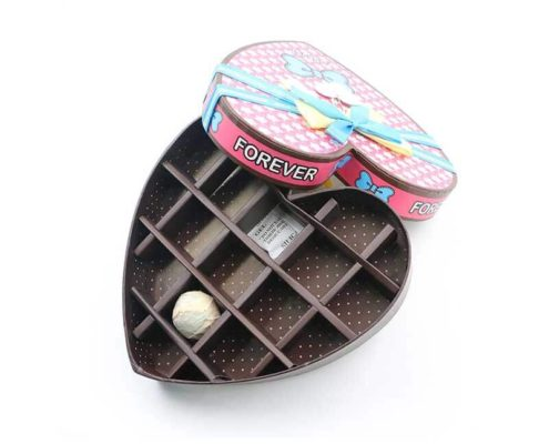 Heart-shaped Candy Chocolate Paper Gift Box-1
