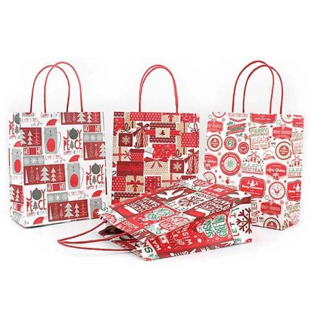 Holiday Valentines Christmas Paper Bags (2)