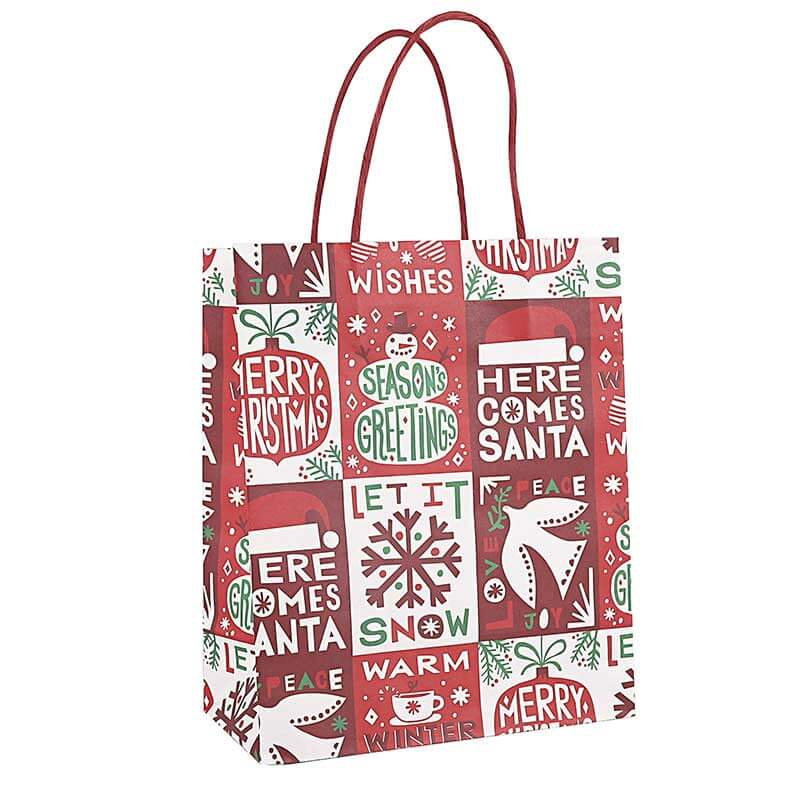 Holiday Valentines Christmas Paper Bags (4)