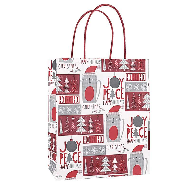 Holiday Valentines Christmas Paper Bags (6)