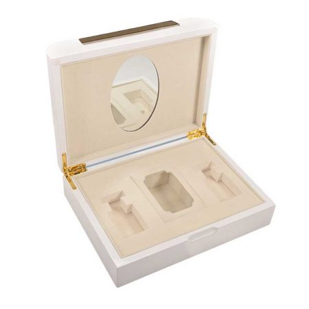 Lacquered Wooden Perfume Storage Boxes-3