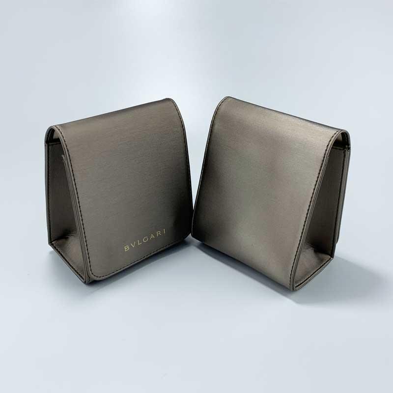 Luxury PU Leather Jewelry Watch Pouch-3