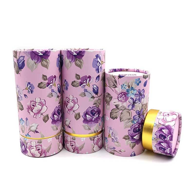 Paper Perfume Cream Cosmetic Tube Boxes (2)