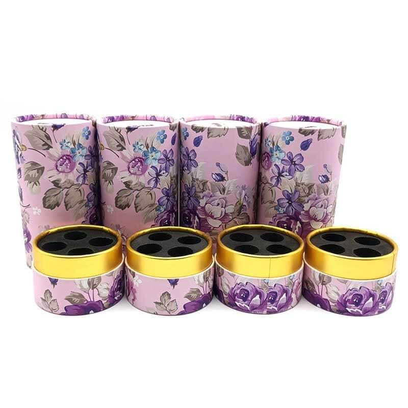 Paper Perfume Cream Cosmetic Tube Boxes (3)