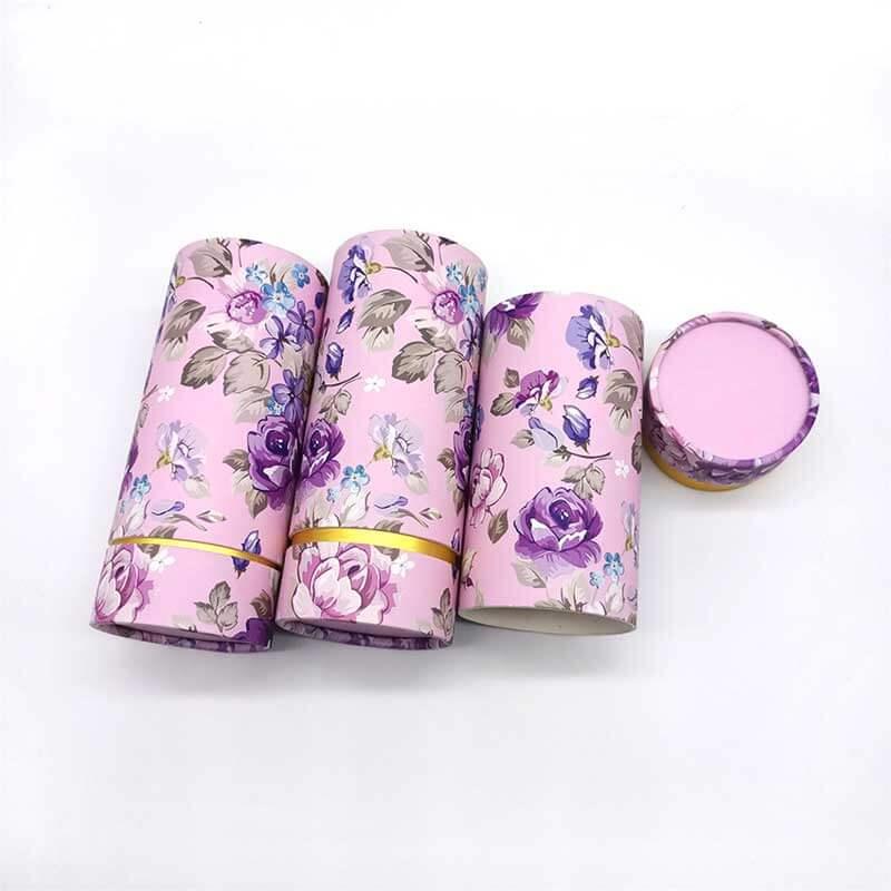 Paper Perfume Cream Cosmetic Tube Boxes (5)