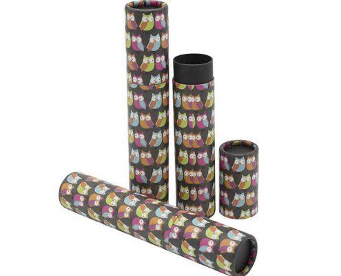 Print Black Paper Tube Packaging (4)