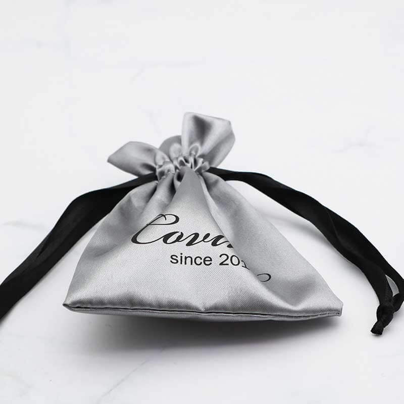 Printed Custom Jewellery Pouches with Logo-3