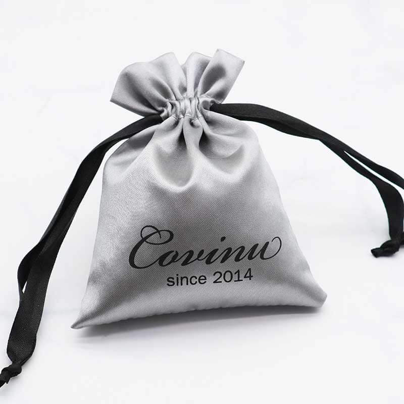 Printed Custom Jewellery Pouches with Logo-4