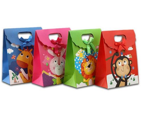 Printed Mini Tiny Small Paper Gift Bags (1)