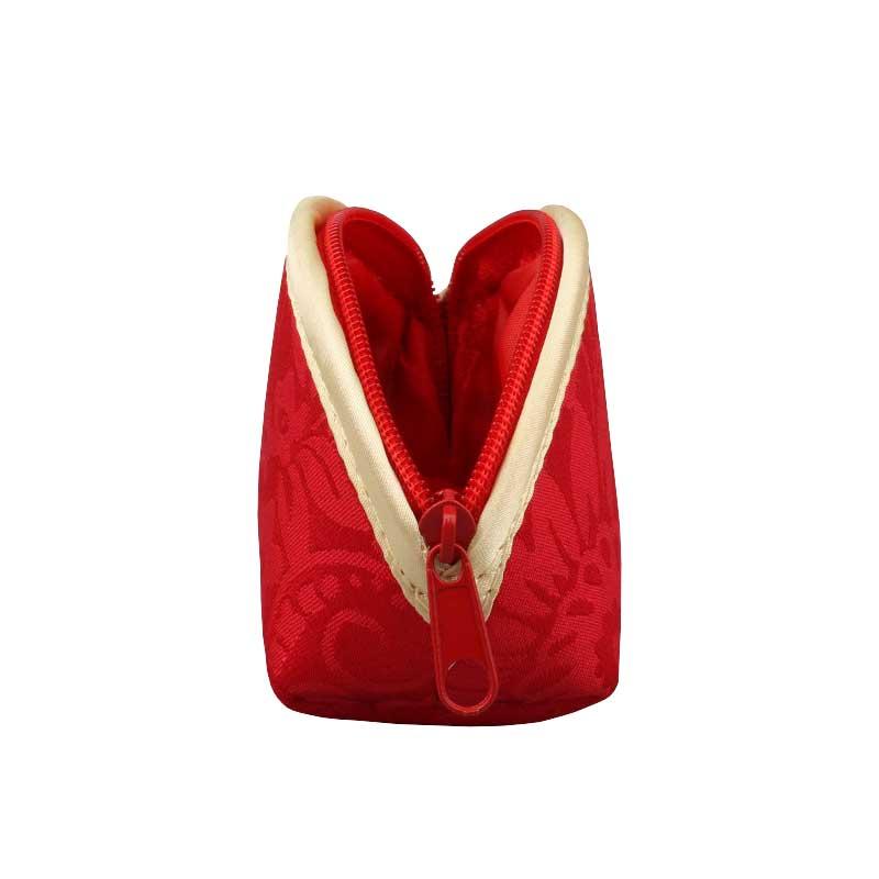Silk Cotton Jewellery Zip Pouches Wholesale-1